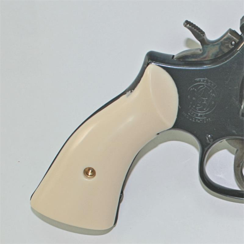 Smith & Wesson, K & L Frame Ivory-Like Grips