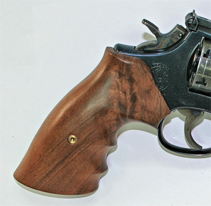 Smith & Wesson K Frame Walnut Combat Grips